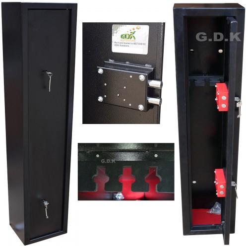 3 Gun cabinet, shotgun, rifle safe