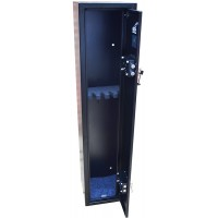5 Gun cabinet, extra tall, extra deep, 1420mm