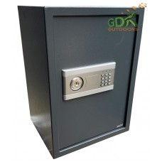 Double security ammunition safe, Key and digital code