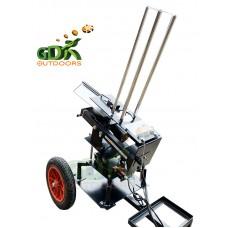 Black wing clay trap, wobbler kit, 2 wheel trolley, 200m remote package deal
