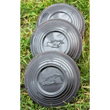200pcs black standard clay targets, clays