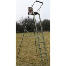 Universal high seat stand / folding tree ladder, stalking