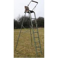 Universal high seat stand / folding tree ladder, stalking