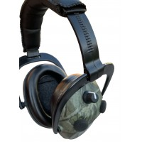 4 MIC, Electronic, Camouflage ear defender, shooting