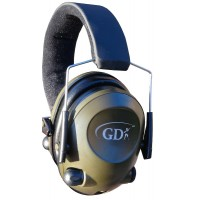 GDK Green MP3 electronic ear defender, shooting