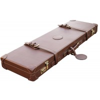 "Guardian leather shotgun case 26-32"" barrels, Dark brown"