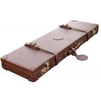 "Guardian leather shotgun case 26-32"" barrels, Dark brown"