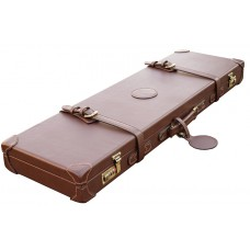 "GDK Guardian Leather shotgun case, 26-32"" barrels dark brown 165sl"