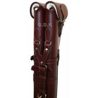 "Guardian Leather double shotgun slip, Detachable, 28-32"" BARREL"