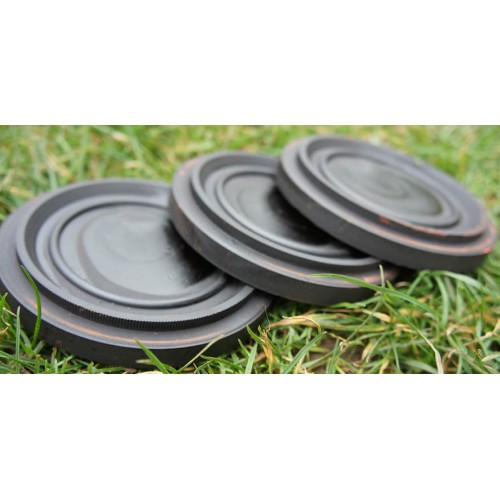 200 Rabbit clay targets black
