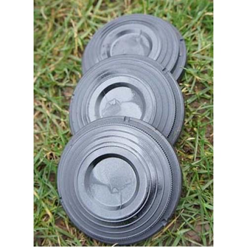 220 midi clay targets black
