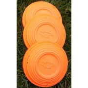 200 Orange Standard clay targets