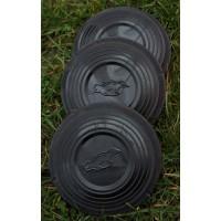 200 black standard clay targets
