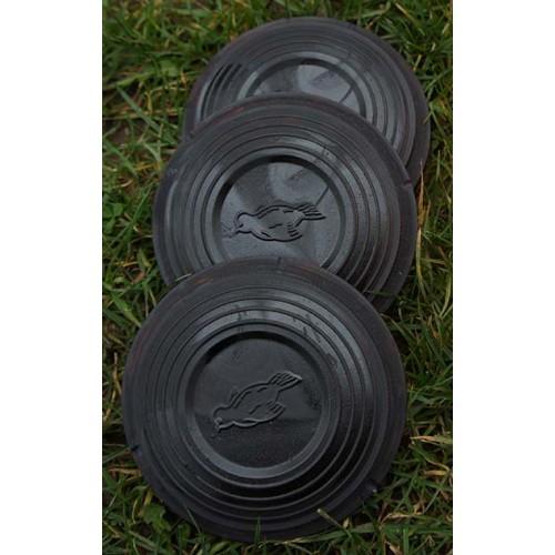 1000 black standard clay targets