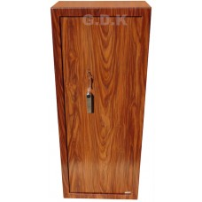 8 gun wood effect safe, inner ammunition