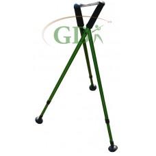 Tripod telescopic shooting stick