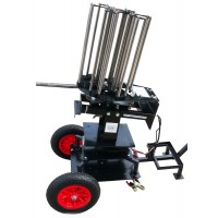 Black pheasant, ABT Large wobbler, 2 wheel trolley