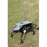 Black wing clay pigeon trap