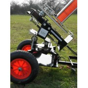 Black wing clay trap, wobbler kit, 2 wheel trolley, 70m remote package deal