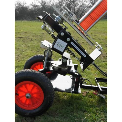 Black wing clay trap, wobbler kit, 2 wheel trolley, 70m remote package deal