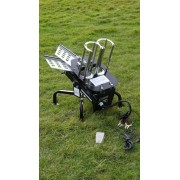 Double arm automatic clay trap 12v