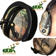 Camo electronic ear defenders, camouflage NEW DESIGN