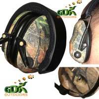 Camo electronic ear defenders, camouflage