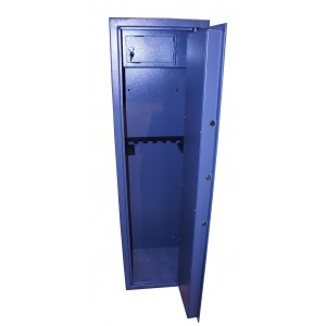 Vault locking 10 gun cabinet with inner ammo safe