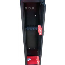 6 Gun cabinet Extra deep, scoped rifle safe