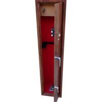 6 Gun cabinet wood effect