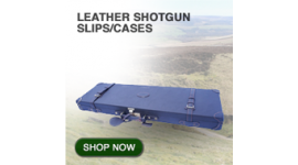 Leather shotgun slips