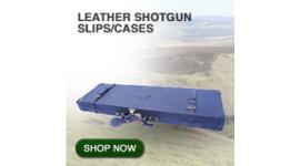 Leather shotgun slips