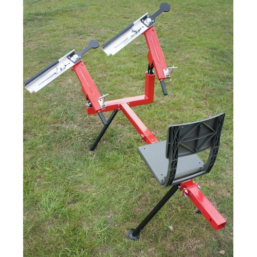 3/4 self cocking seated double arm clay pigeon trap