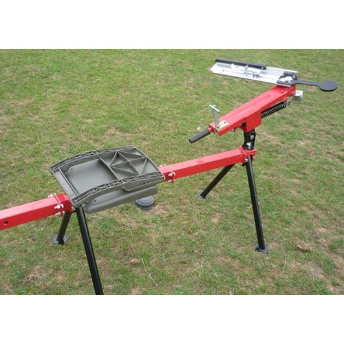 3/4 self cocking seated single arm clay pigeon trap