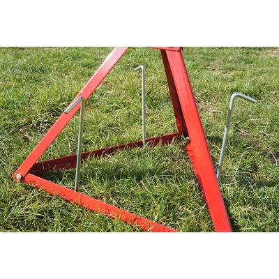 3/4 Self cocking triangular clay pigeon trap