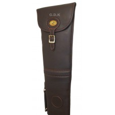 GDK  Leather pu shotgun slip, dark brown