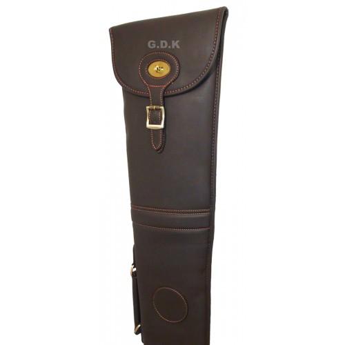 GDK  Leather pu shotgun slip, dark brown