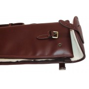 "Guardian leather shotgun slip, dark brown 32-34"" barrels"