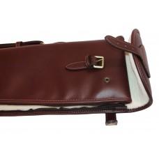 "Guardian leather shotgun slip, dark brown 32-34"" barrels"