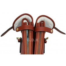 Guardian leather double shotgun case, detachable