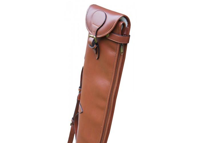 for shotgun rifle slip with shoulder pad GDK Guardian leather shoulder strap