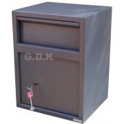 Home security safe with letter, cash deposit, letter box drop safe