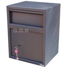 Home security safe with letter, cash deposit, letter box drop safe