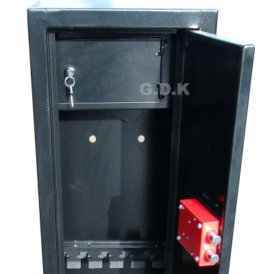 6 Gun cabinet with inner ammo safe