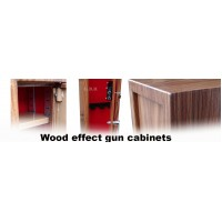 Wood effect Gun cabinets