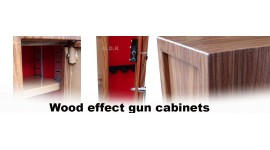 Wood effect Gun cabinets